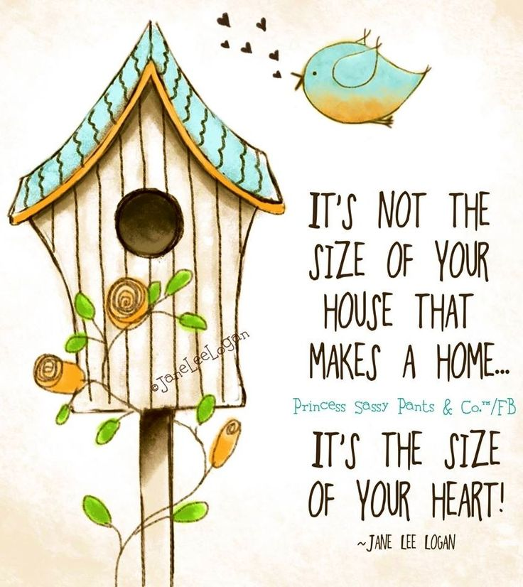 Home quote and illustration via www.Facebook.com/PrincessSassyPantsCo