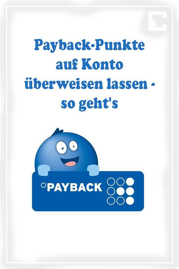 payback auszahlen lassen