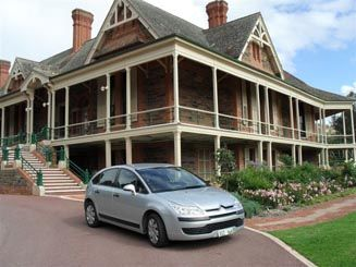 C4UrrbraeHouse2011 • Citroen C4 photograph taken by C Bennet at the Waite Urrbrae House, City of Adelaide • South Australia