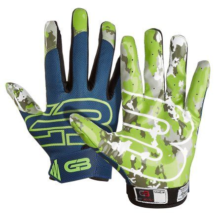 Grip Boost Stealth Football Gloves Pro Elite, Green