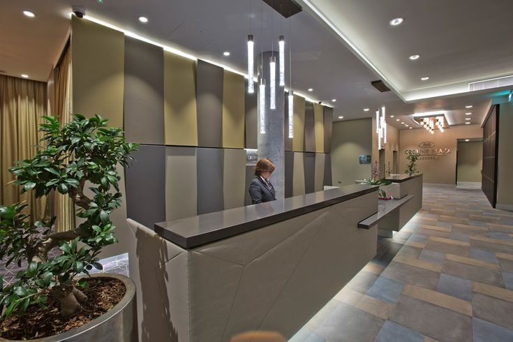 Custom Rods at the reception of Crowne Plaza Aberdeen Airport