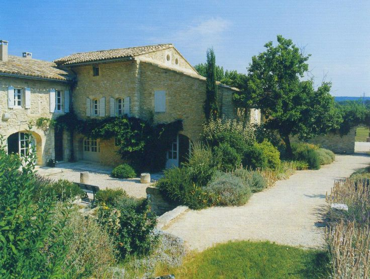 Renovations : Reviving a ruin - A. Nelson Architect, Landscape in Provence, France