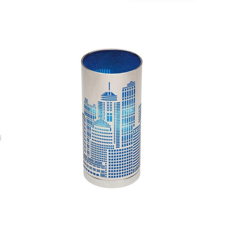 New York Touch Lamp Mercator, $64.95
