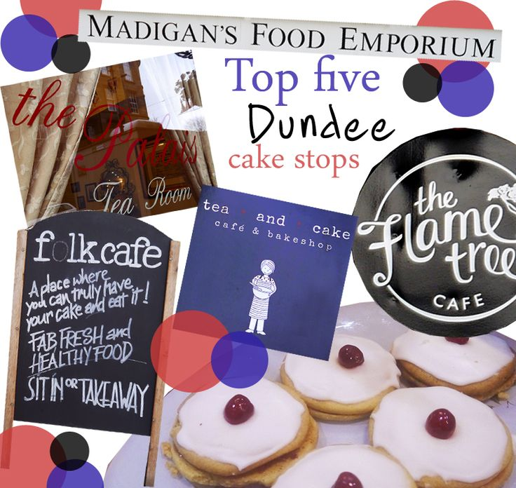 Top 5 cake stops in Dundee, UK. From the traditional tea room to the gluten free modern take we've got the low down on the blogger faves.