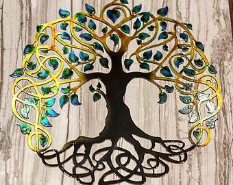 Boom des levens, kunst aan de muur boom, boom kunst, kunst aan de muur, metalen boom van het leven, metalen boom Yard kunst, moderne boom des levens, wand decor, wandkleden, kunst