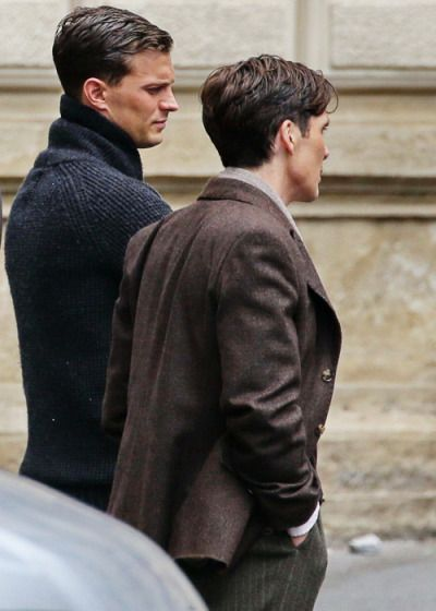 Cillian Murphy and Jamie Dornan