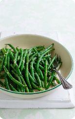 Wok tossed garlic beans