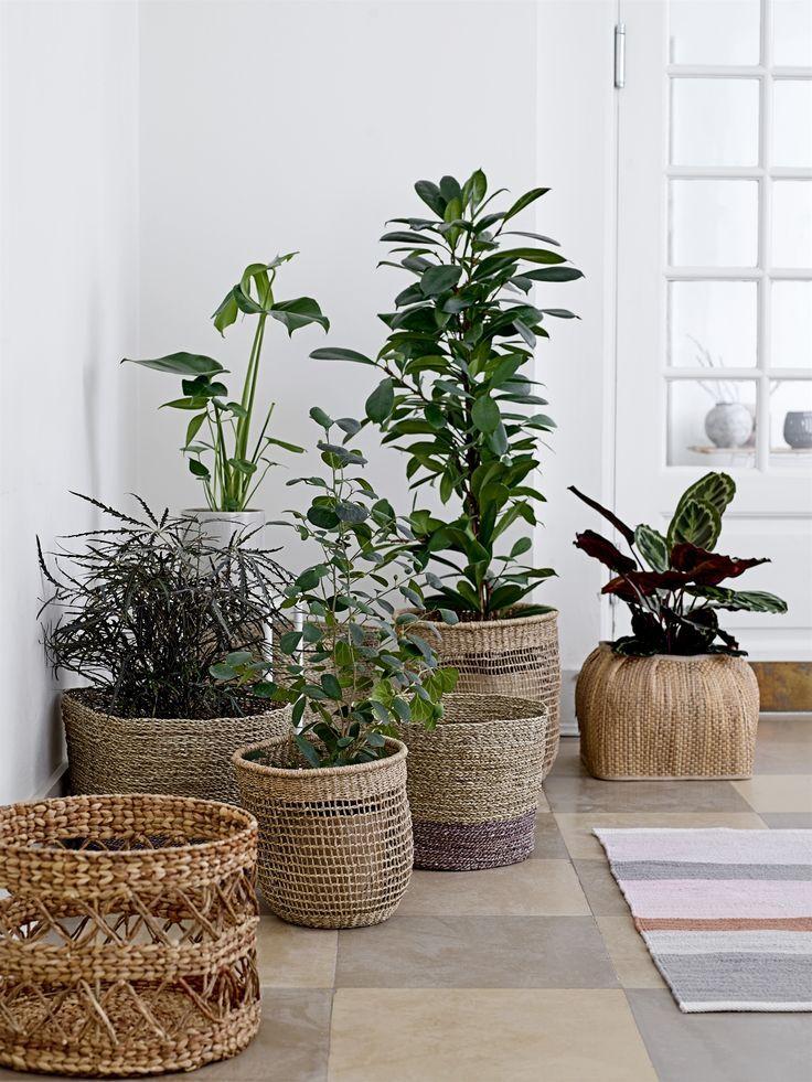 Large Mid Century Modern Planter Plant Stand Plant Pot With Wood Stand 12 Ceramic Pot Plant Decor Flower Pots Plant Decor Indoor