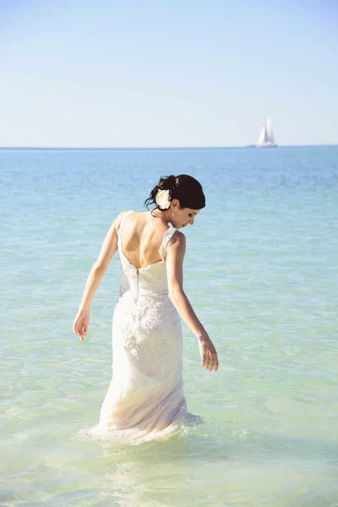 all inclusive beach wedding destinations%0A Whitehaven Beach Wedding from Lisa Michele Burns