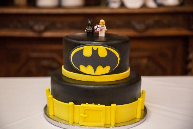 Batman Grooms Cake, Wedding Cake, Lego Batman