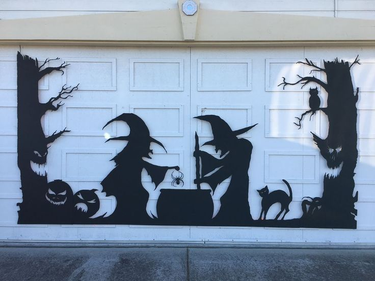 Best 25 Halloween Garage Door Ideas On Pinterest Garage
