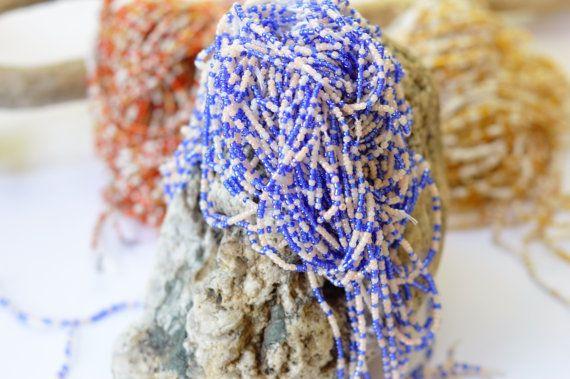 Waist beads- Blue and white waist beads- body jewelry- belly beads- African waist-beads, African jewellery, African, Waist beads for women #AfricanJewelry #SeedBead #WaistBeads #SeedBeads #WaistBead #BodyJewelry #TribalBeads #BeadedWaistBeads #AfricanJewellery #BellyBeads