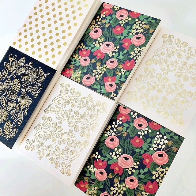 """""""The perfect little note book to keep all your secrets in. Or just doodling through your next business meeting! By Anna Rifle Bond, come in packs of two!…"""""""