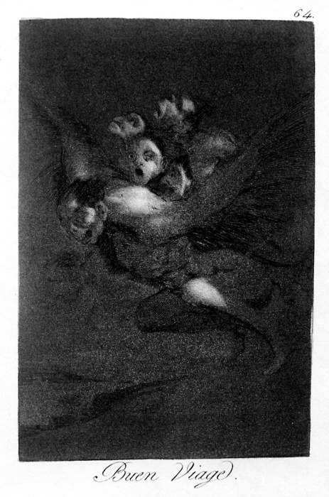 Francisco Goya: Los caprichos n° 64.