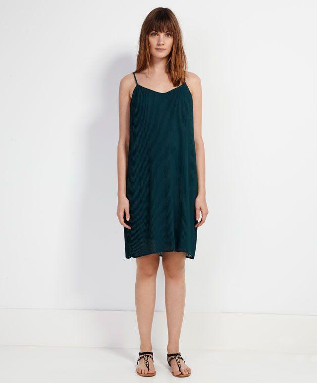 Vestido plisado - Los más buscados.