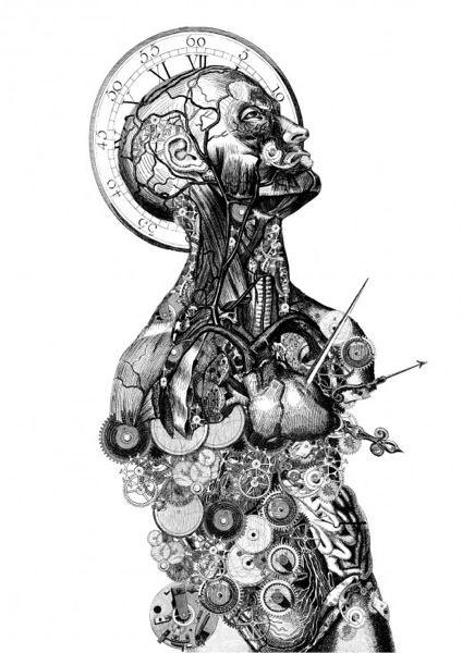 timenauts by Paula Braconnot flavors.me/... #art #illustration #artist