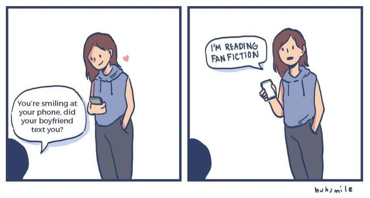 I do this all the time and then my friends, classmates or family keep asking me what exactly am I doing,  Fanfiction
