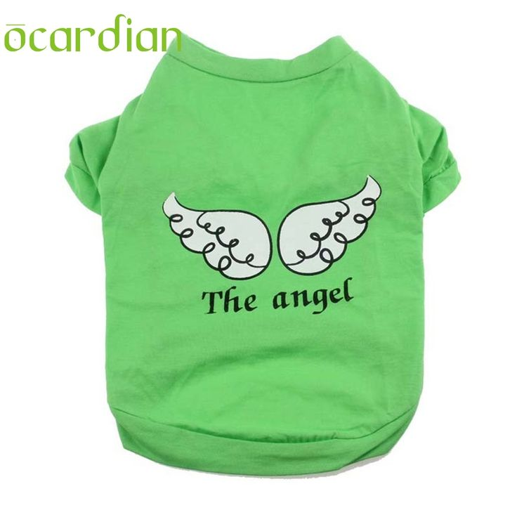 >> Click to Buy << Ocardian New Cute Pet Puppy cheap dog clothes Angel Wing Pattern T-shirt Shirt Tops pets clothing Quality First #Affiliate