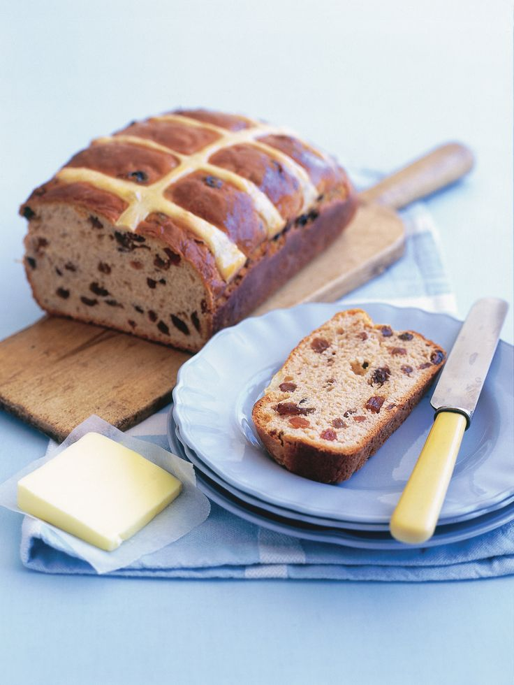 hot cross bun loaf from donna hay