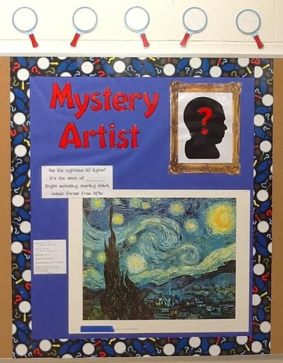 Sneak in MORE Art History with a Mystery Artist Board!