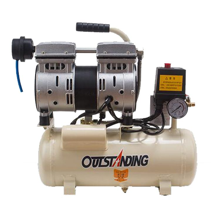 8L Portable air compressor 0.7MPa  small inflating pump cylinder air pump oil-free compressor #Affiliate