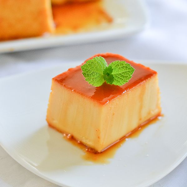 Leche Flan with Cream Cheese is a popular Filipino dessert. The ...