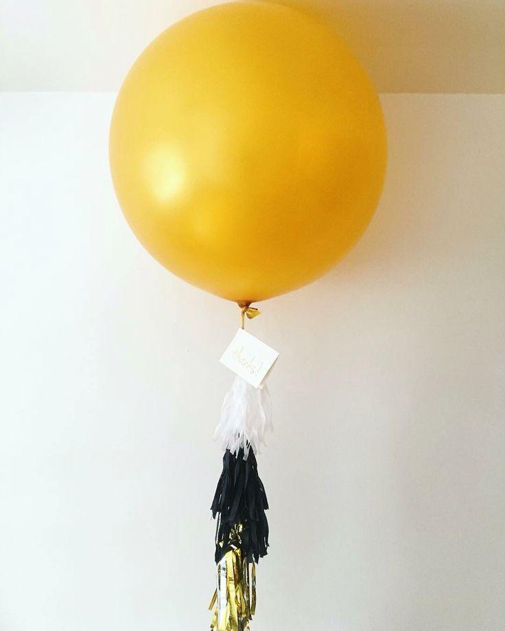 "36"" gold balloon #tjparties"