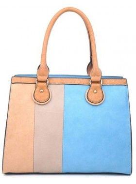DV8 Blue Pastel Handbag. Buy @ http://thehubmarketplace.com/Blue-Pastel-Handbag