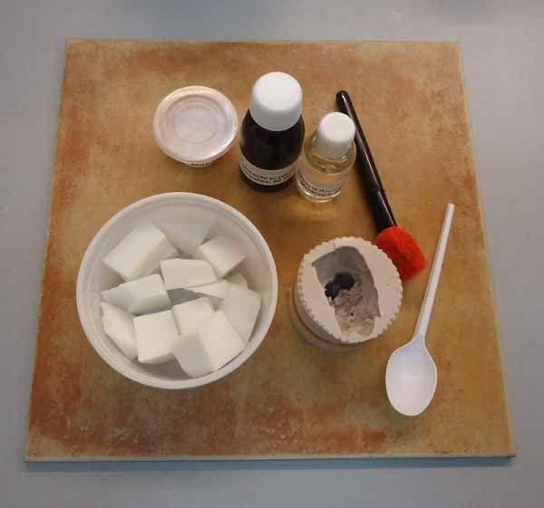 Materiales necesarios para hacer jabones de boda parejita - Como hacer esencias para jabones ...