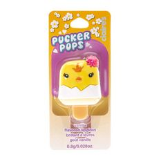 Yellow Chick Pucker Pop Lip Gloss