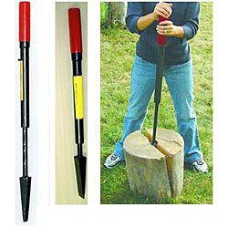 Anaconda Slide-hammer Manual Log Splitter | Overstock™ Shopping - Big Discounts on Anaconda Hand Tools