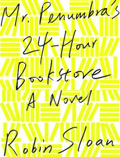 Step Inside Mr. Penumbra's Bookstore -- The novel is an entertainingly modern and somewhat geeky delight.  There is a carefree, never-quite-moved-past-collegiate literary tone to Robin Sloan's novel Mr. Penumbra's 24-Hour Bookstore, which become quickly addictive from the start.