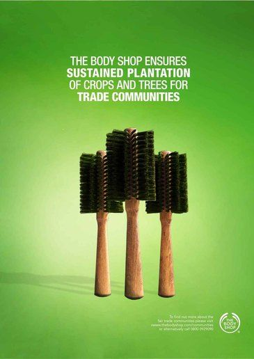 Advertisements from The Body Shop