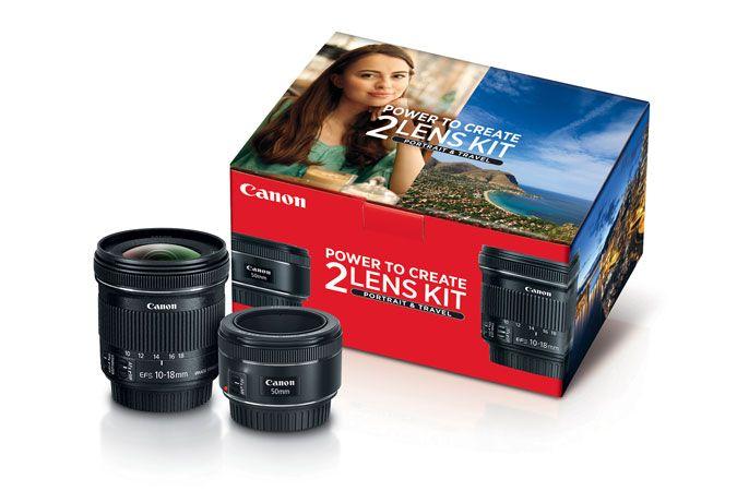 Portrait & Travel 2 Lens Kit   Canon Online Store