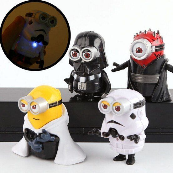 Theme: Movie & TV Dimensions: 8cm Gender: Unisex Package includes: 4pcs (1 Set) Material: PVC