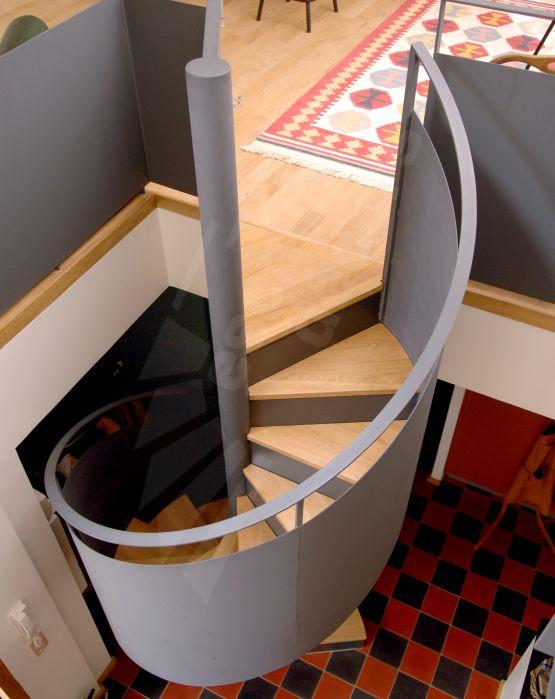 302 best images about un escalier pour votre mezzanine on pinterest home renovation metals - Deco salon avec escalier ...
