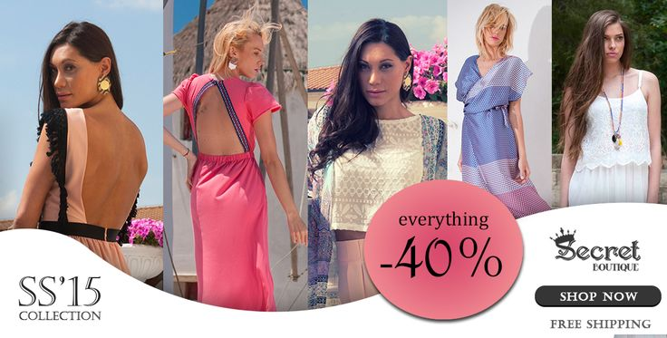 S A L E S -40% !!! SHOP NOW at www.secretboutique.gr