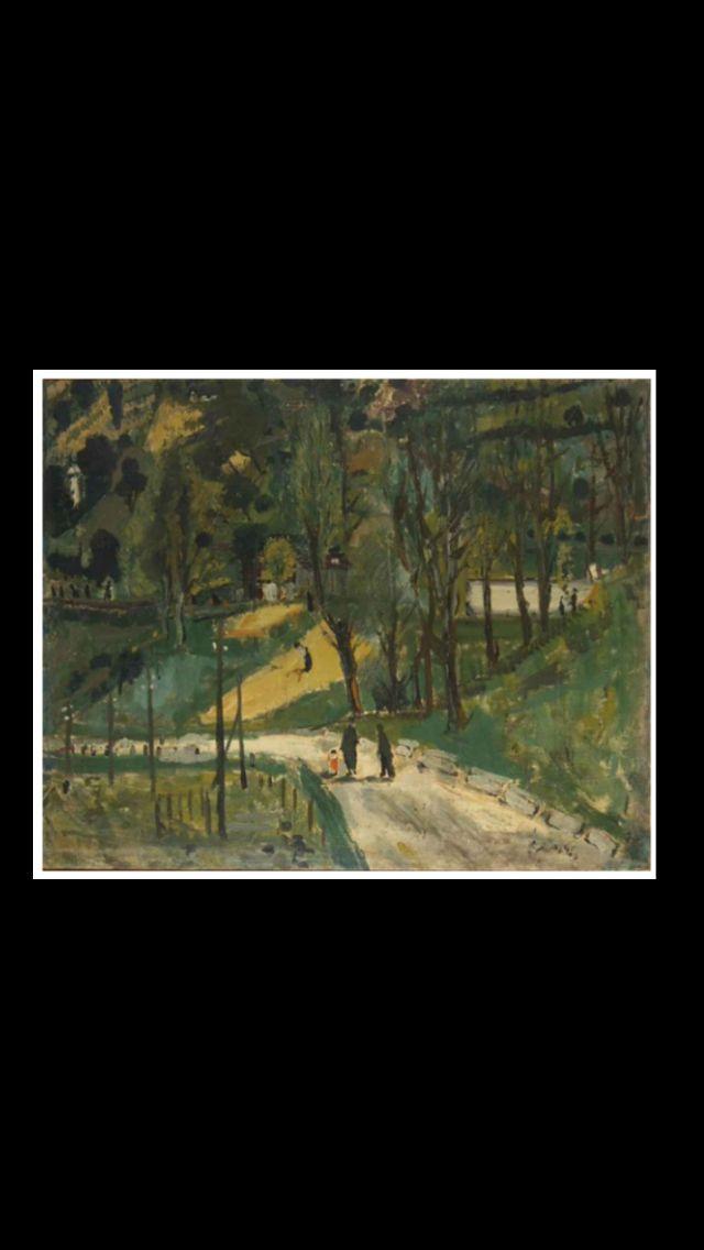 """Fillipo de Pisis - """" Paesaggio di Cadore """", 1929 - Olio su tela - 81 x 100 cm"""