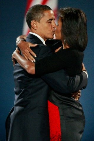The First Couple - President Barack and First Lady Michelle Obama.