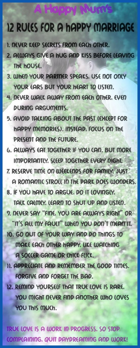 Essential Rules for Women on a First Date Facts for Women About Husbands to Help Keep a Happy Marriage
