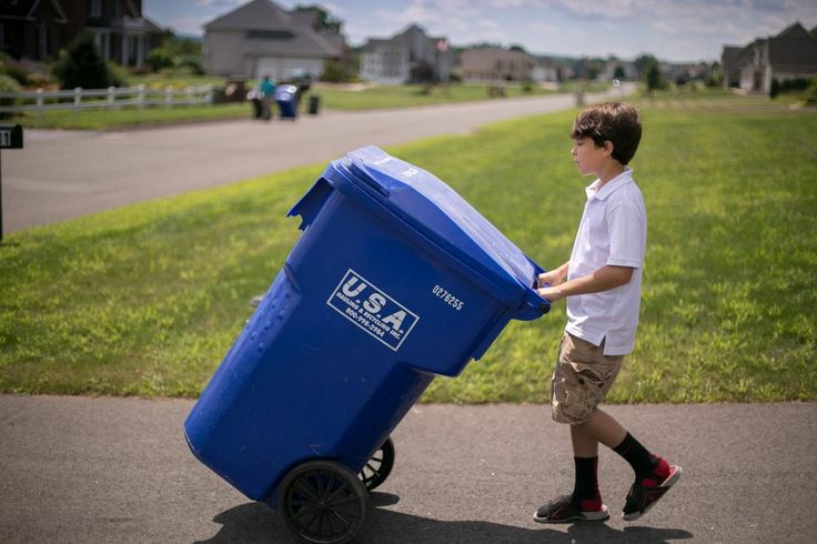 For home curbside pickup usa hauling recycling