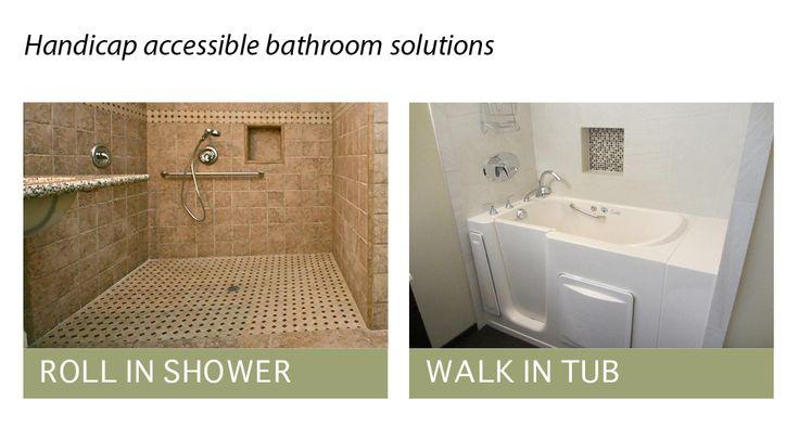 Pin by cyn on guest house bathroom pinterest for Ada bathroom design ideas