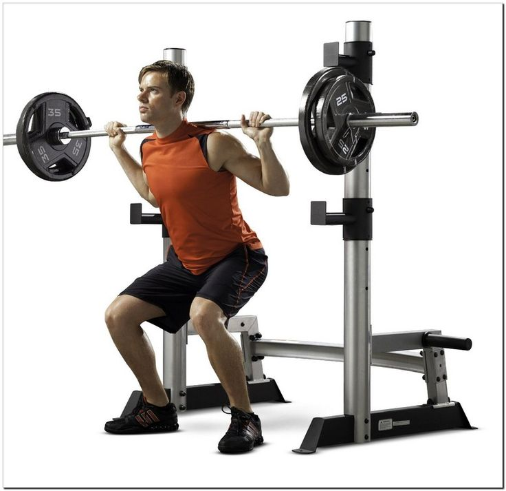 Affordable fitness gear pro olympic bench squat with