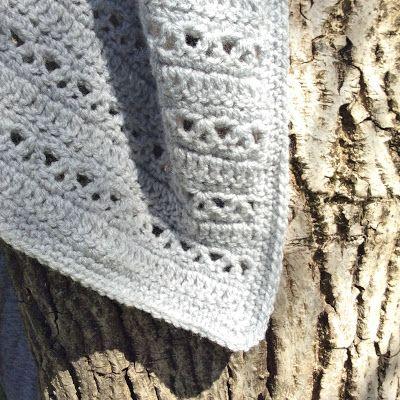 Kat Kat Katoen: Monochrome baby blanket - Free pattern in Dutch and English