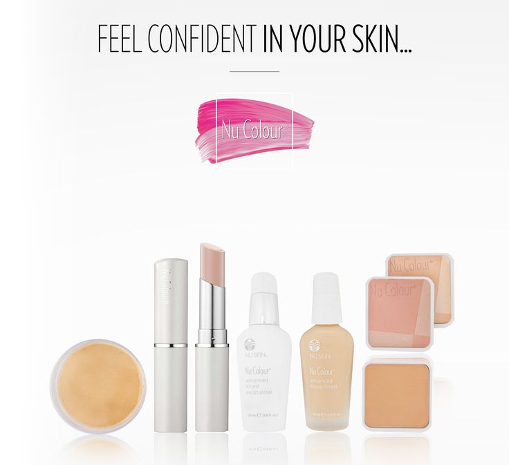 Feel confident in your skin with Nu Colour makeup! Click here to see this fantastic new makeup line.