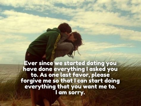 I'm Sorry Love Quotes for Her