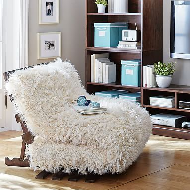 I Must Have This Faux Fur Futon Set!This Would Look So Cute In My Living  Room!