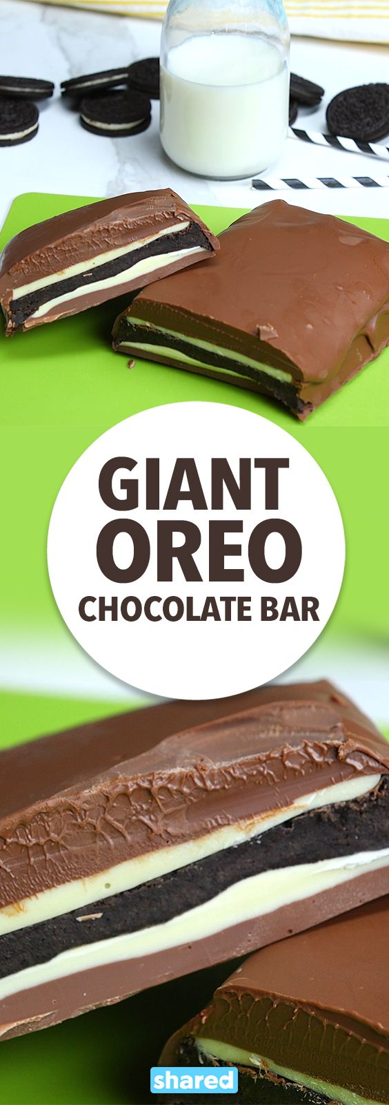 Giant Oreo Chocolate Bar