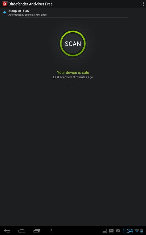 Bitdefender Antivirus Free- screenshot