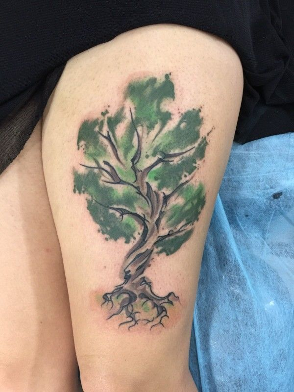 My Tree tattoo